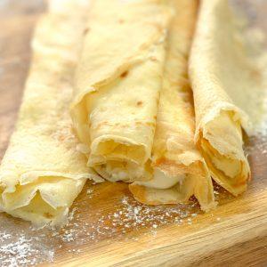 Beste glutenfreie Pfannkuchen, Crepes und Palatschinken – maisfrei, zuckerfrei
