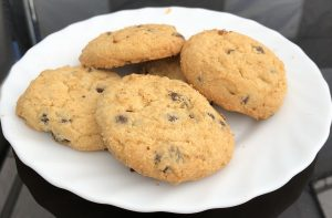 Cookies mit Schokotröpfchen (glutenfrei, maisfrei)