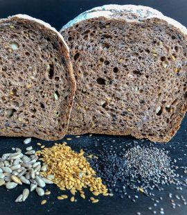 Glutenfreies Rezept Brot mit Körner