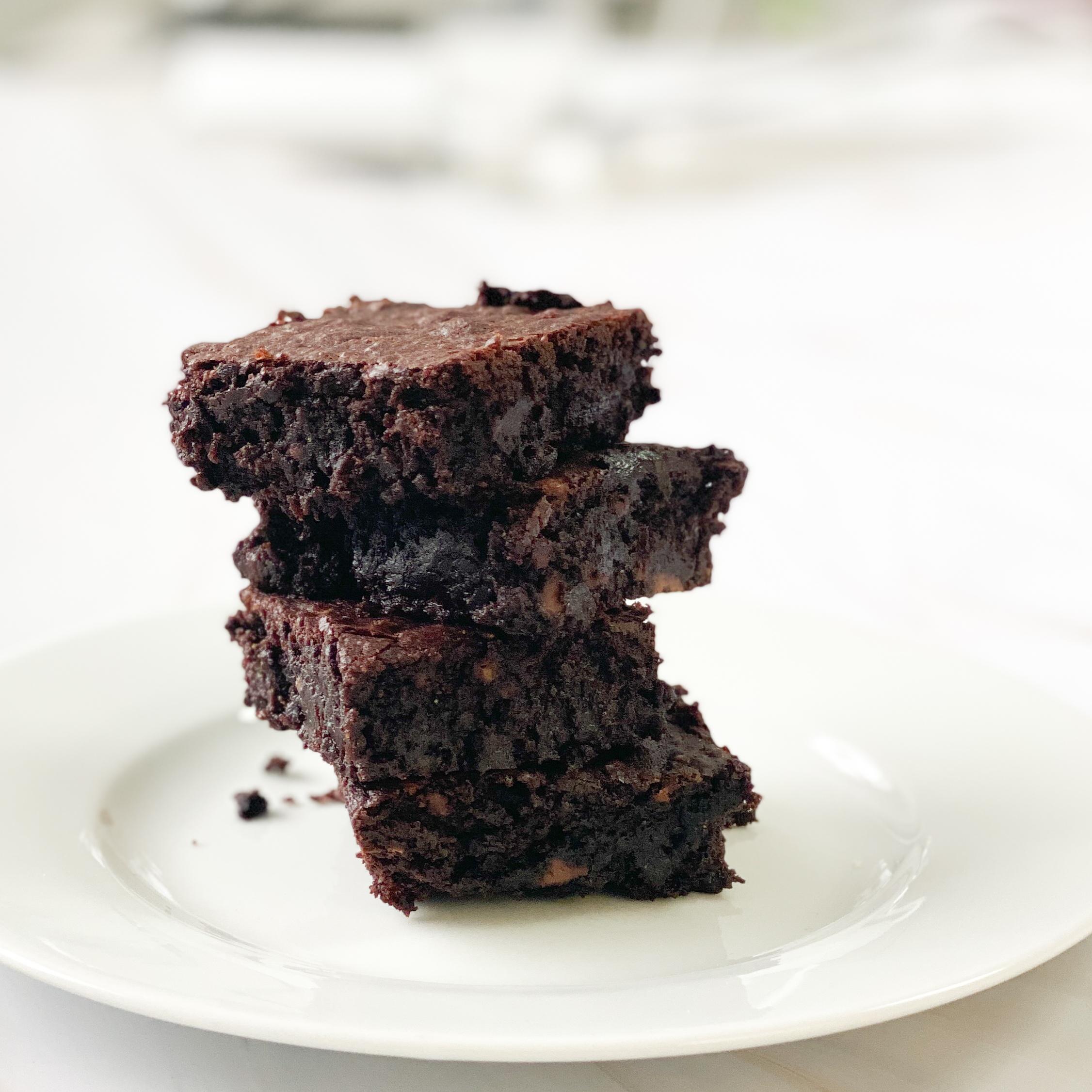 Beste glutenfreie Schoko-Brownies – maisfrei